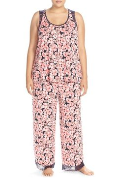 Midnight by Carole Hochman Stretch Modal Pajamas (Plus Size) available at #Nordstrom