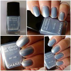 NOTD - Chanel Skyline Nagellack Swatches und Review http://infarbe.blogspot.de/2012/11/notd-chanel-skyline-nagellack-swatches.html