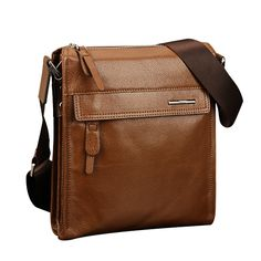 PABOJOE Men Genuine Leather Crossbody Bag Shoulder Messenger Briefcase  Worldwide delivery. Original best quality product for 70% of it's real price. Hurry up, buying it is extra profitable, because we have good production sources. 1 day products dispatch from warehouse. Fast &...
