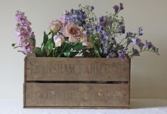 Rustic Wedding Decorations | Wooden Apple Crate | The Wedding of my Dreams by The Wedding of my dreams, via Flickr