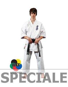 """KARATEGI """"SHODAN"""" KYOKUSHINKAI #abbigliamento #karategi #karate #wkf"""