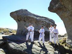 Karate Kyokushin Sibiu - Antrenament in Muntii Bucegi