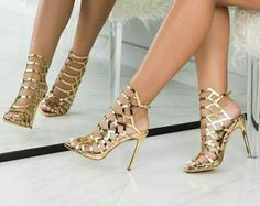 793e0e1ce8 Image shared by Find images and videos about gold heels on We Heart It -  the app to get lost in what you love.