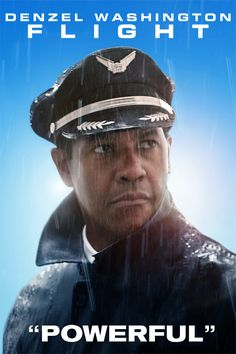 """Flight - """"Robert Zemeckis makes a triumphant return to live-action cinema with Flight, a thoughtful and provocative character study propelled by a compelling performance from Denzel Washington."""""""