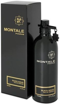 Montale Paris  BLACK Perfume  OUD Spray EDP Unisex 100 ML, 3.4oz. ORIGINAL