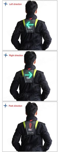 Multi-Rider Remote Control Light-emitting Warning Pendant - Dark Gray (2 x CR2032) - From 79,= for Euro 42,90
