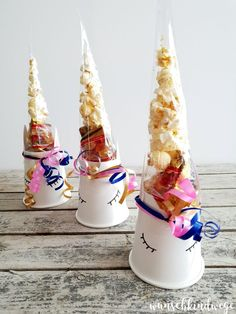 Unicorn Birthday - DIYs for your party: decoration, gifts and food - Einhorn geburtstag - Baby Tips Diy Birthday, Unicorn Birthday, Birthday Gifts, Birthday Parties, Birthday Candles, Birthday Ideas, Presents For Girls, Festa Party, Party Bags