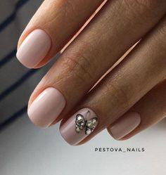 I put my nail polish like a pro! - My Nails Glam Nails, Pink Nails, Beauty Nails, Love Nails, Pretty Nails, My Nails, Minimalist Nails, Diy Nail Designs, Stylish Nails