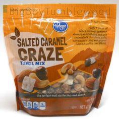 Salted Caramel Craze Trail Mix 10 oz bag chocolate candy almonds cashews snack #BigBoyTumbleweed