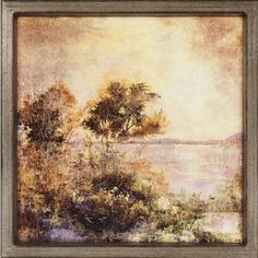 Paragon Evening by the Lake Framed Print - Stiles - 1459