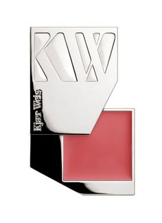 Kjaer Weis Cream Blush - Blossoming  These products come in a refillable compact that swivel open. Ingenious!