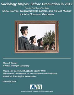 Sociology Majors: Before Graduation in 2012. January 2013 (ASA publication)