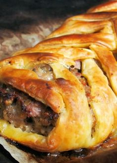 Low FODMAP Recipe and Gluten Free Recipe - Spiced sausage plait   http://www.ibs-health.com/spiced_sausage_plait.html
