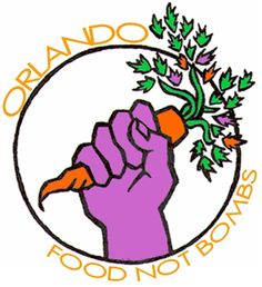 Orlando Food Not Bombs Logo