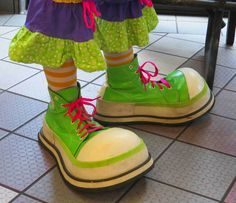 custom clown shoes professional - Google Search