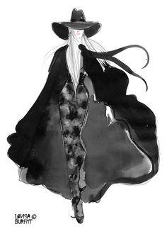 It's Nice That : Illustration: Lovisa Burfitt's lovely fashion illustration has us swooning