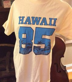 Vintage Estate Authentic Hawaii 85 Off White and by MADVintology, $12.00