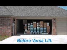 Versalift Ultimate Attic Lift - YouTube & Versalift Attic Storage Solutions - this video explains it all ...