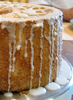 Przepis na Café au Lait Angel Food Cake Angel Food Cake, Food Cakes, Vanilla Cake, Cake Recipes, Coffee Latte, Cakes, Easy Cake Recipes, Kuchen, Angel Food Cakes