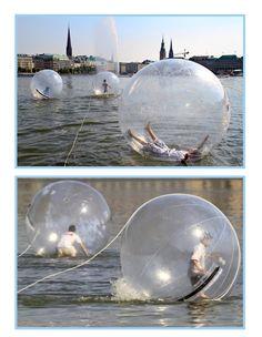 Water walk balls