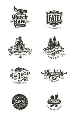 vintage logo inspiration with graphic elements 2 Logo, Badge Logo, Typography Logo, Graphic Design Typography, Branding Design, Script Logo, Logo Inspiration, Tolle Logos, Logo Luxury