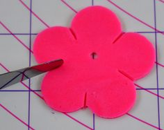 how to make hibiscus fondant flowers - Google Search