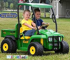 John Deere Toys Charge and Ride- then of course this will be next!