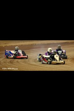 Dirt go kart racing! Go Kart Racing, Dirt Racing, Slot Cars, Race Cars, Karting, Jay, Engineering, Bicycle, Cook