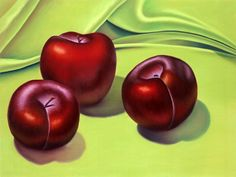 Three Black Plums, a notecard depicting an original pastel painting still life by Gema Lopez via Etsy. Prints available also. Painting Still Life, Fruit And Veg, Contemporary Decor, Note Cards, Plum, Pastel, Paintings, The Originals, Mushroom