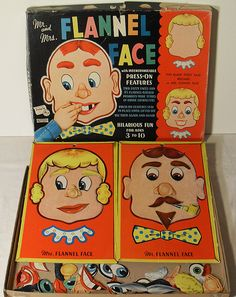 Flannel Face 1940s Vintage Toy | Flickr - Photo Sharing!
