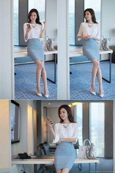 Korean Fashion – How to Dress up Korean Style – Designer Fashion Tips Korean Fashion Work, Korean Fashion Trends, Korean Style, Korean Outfits, Trendy Outfits, Fashion Outfits, Women's Fashion, Fashion Ideas, Fashion Watches