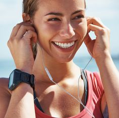New research found that people who'd never done HIIT before liked it better when they tried it with a workout playlist of their choice. Here's why you should listen to music when you exercise.   Health.com