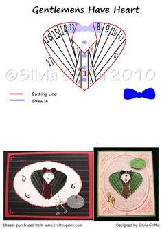Gentlemens Have Heart on Craftsuprint - Add To Basket!