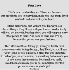 First Love Quotes Endearing First Love Quotes Relationship Always Forever  I Believe In You