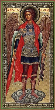 Orthodox icon - Archangel Michael - patron of Armed Forces (among other things). Please bless those who have served and protect those serving now - both body and soul. Have a blessed Veterans' Day Religious Images, Religious Icons, Religious Art, Byzantine Icons, Byzantine Art, Madonna, Religion, Kunst Online, Russian Icons