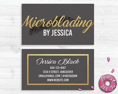 Hey, I found this really awesome Etsy listing at https://www.etsy.com/ca/listing/504624925/gold-microblading-business-card-diy