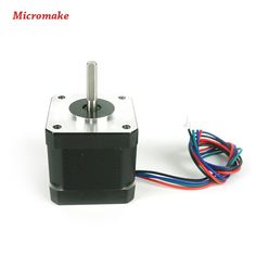 Micromake 3D Printer Parts 3pcs 42 Stepper Motors 1pcs 48 Stepper Motor 12V 1.7A for Delta 3D Printer