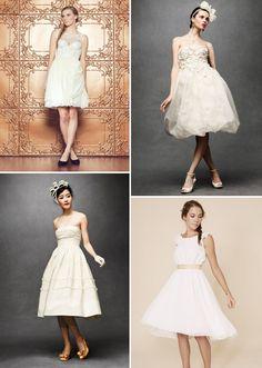 Enrapture Dress by Sarah Seven ($840), Floral Artwork Dress ($800), Whitney Deal Faye Dress ($650), Fondant Tea Dress ($600)