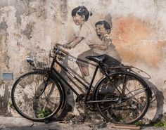 Street Art in George Town, Penang, Malaysia 2019 photos) - Street Art Utopia Street Photography, Graffiti, Photo, Love Photography, Street Art Utopia, Photography, Painting, Art, Vintage