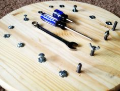 DIY Montessori Bolt Board