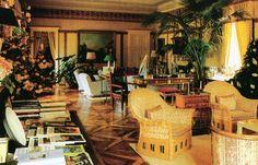 Turin salon of Mrs. Gianni Agnelli, interior design by Lorenzo Mongiardino. Howard Slatkin