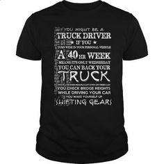 TRUCK DRIVER - #shirt #black shirts. CHECK PRICE => https://www.sunfrog.com/Jobs/TRUCK-DRIVER-113848087-Black-Guys.html?60505