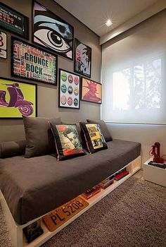38 Funky and Functional Teen Bedroom Furniture Essentials Small Apartments, Small Rooms, New Room, Bedroom Decor, Bedroom Ideas, Teen Bedroom, Master Bedroom, Bedrooms, Bedroom Furniture