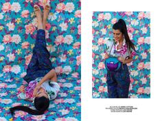 She's Extreme - Fashion-Editorial by We-Love-Unicorns for Eva-Maria