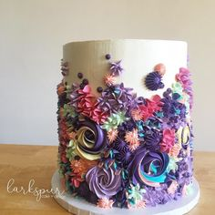 All Time Easy Cake : Simple Cake Piping Ideas, Gorgeous Cakes, Pretty Cakes, Cute Cakes, Amazing Cakes, Easy Cake Decorating, Cake Decorating Techniques, Decorating Ideas, Bolo Tumblr, Decoration Patisserie