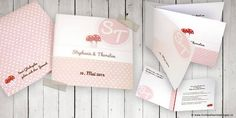 Ideensammlung-Roter Faden für die Papeterie-Symbole-Hochzeitseinladungen und Hochzeitskarten sowie Babykarten und andere Anlasskarten Card Wedding, Graphics, Tips, Gifts, Dekoration