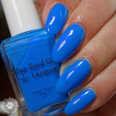 Blue-Eyed Girl Lacquer: Siren's are Made for Water, Not Snow (Siren Series) #blueeyedgirllacquer #begl #beglove #swatch #indiepolish #beglsiren
