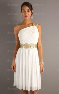 Discount White Bridesmaid Dress LFNAE0076-Bridesmaid UK