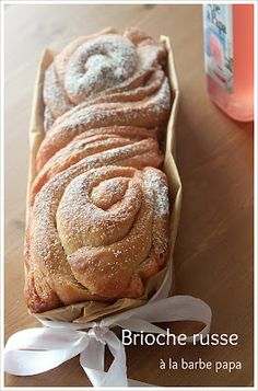 Brioche russe:  Such a beautiful loaf of bread...too bad the recipe is in french!