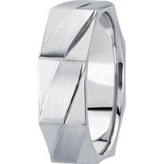 DIAMOND CARVED WEDDING BAND #weddingring